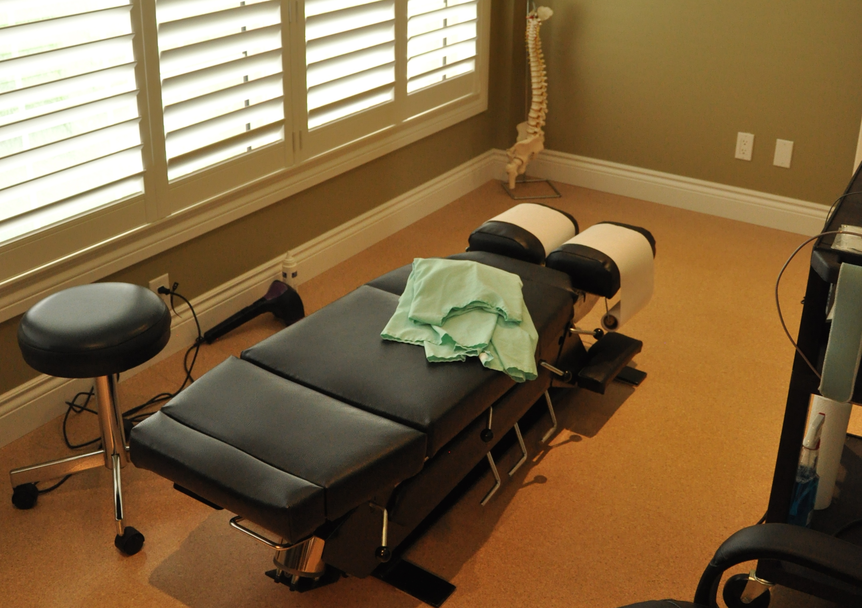 Chiropractic Treatment Room